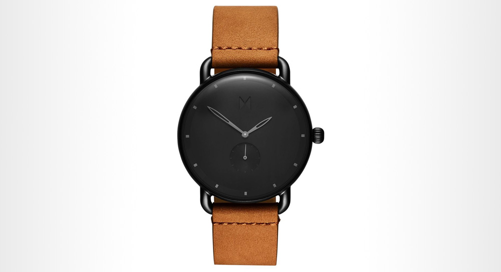 MVMT - WILDE black minimalist watch