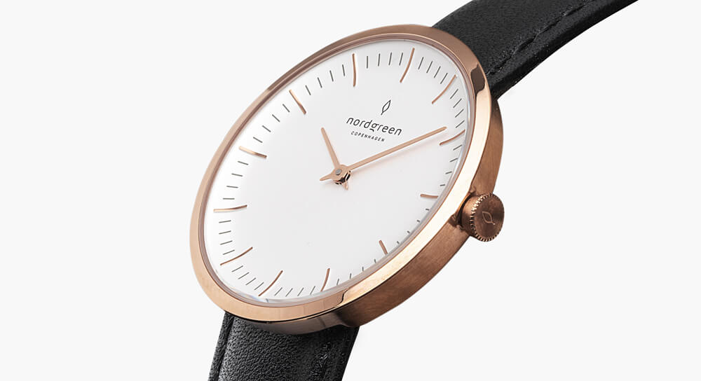 Nordgreen Infinity Rose Gold Watch