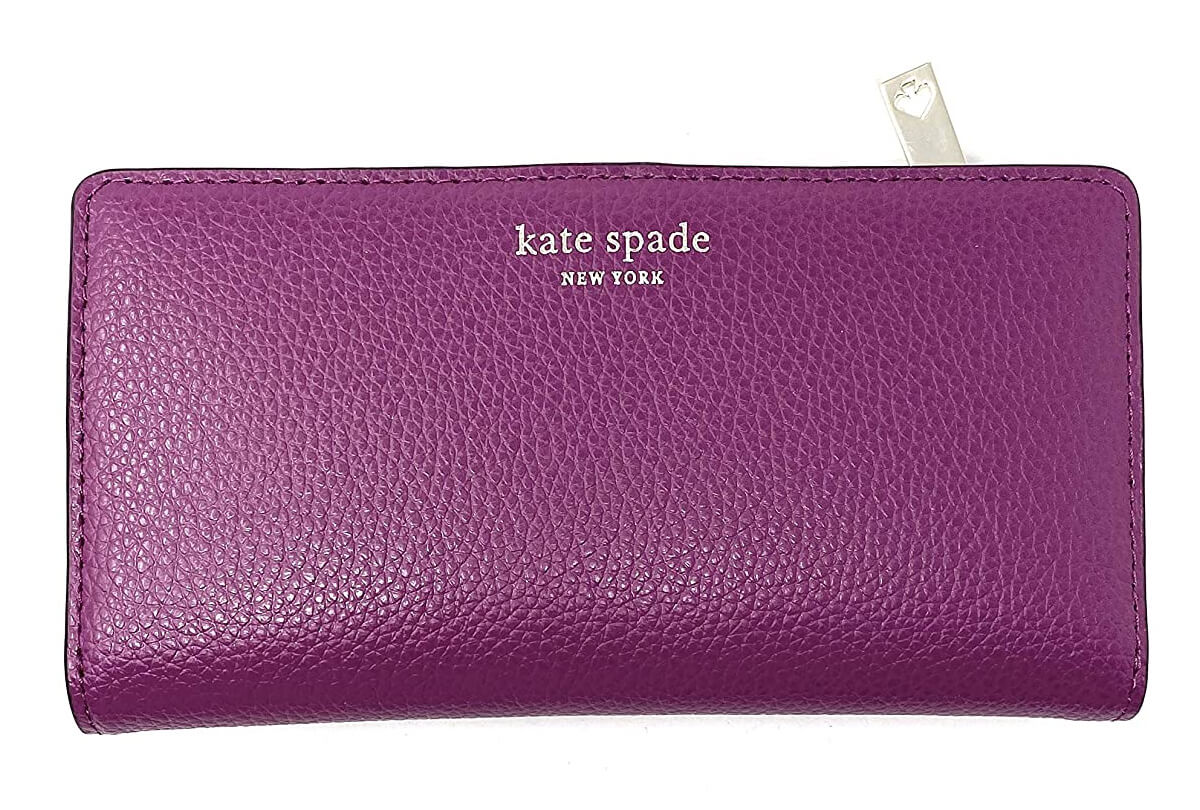 Kate Spade New York Slim Eva Leather Bifold Wallet