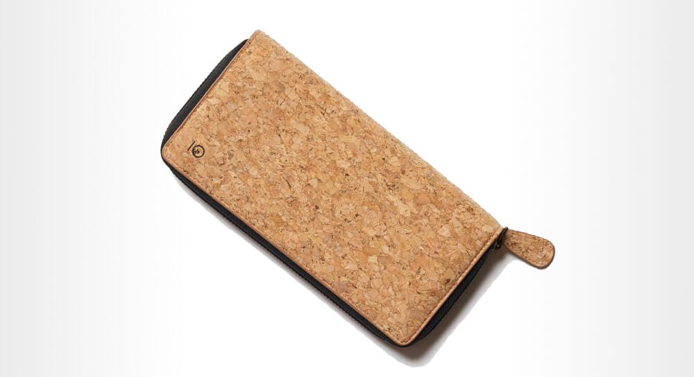 Tentree - Cork Zipper Women's Wallet