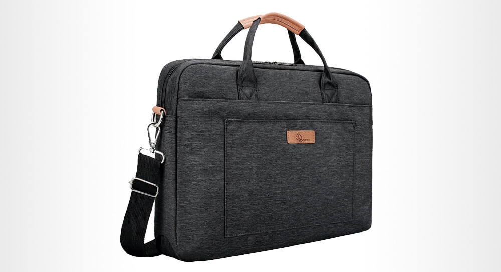 E-Tree 17.3-inch Laptop Sleeve Messenger Bag
