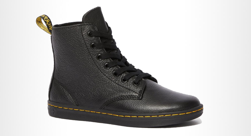 Dr. Martens Leyton Women's Leather Casual Boots