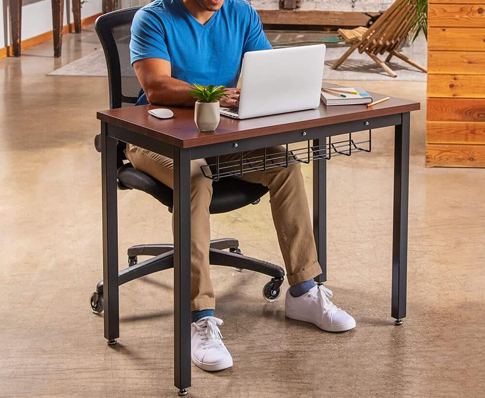 The Oasis - Small Computer Desk for Home Office