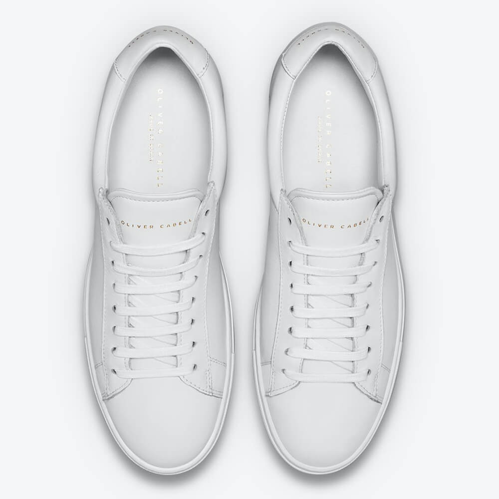 Oliver Cabell - Low 1 White Sneakers