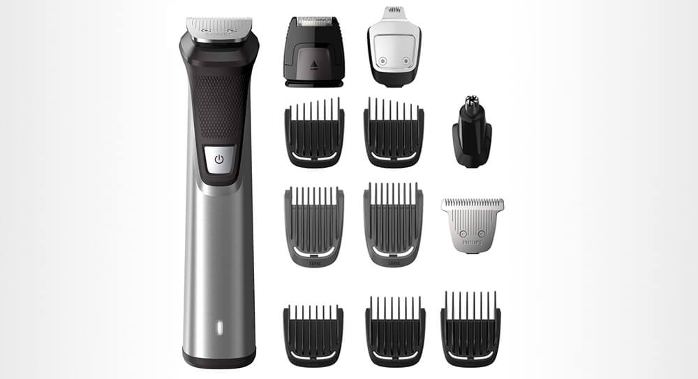 Philips Norelco MG7750/49 Multigroom 7000 Face Styler and Grooming Kit