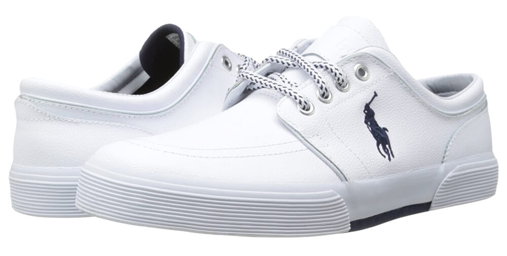 Polo Ralph Lauren Men's Faxon Leather Fashion Sneaker