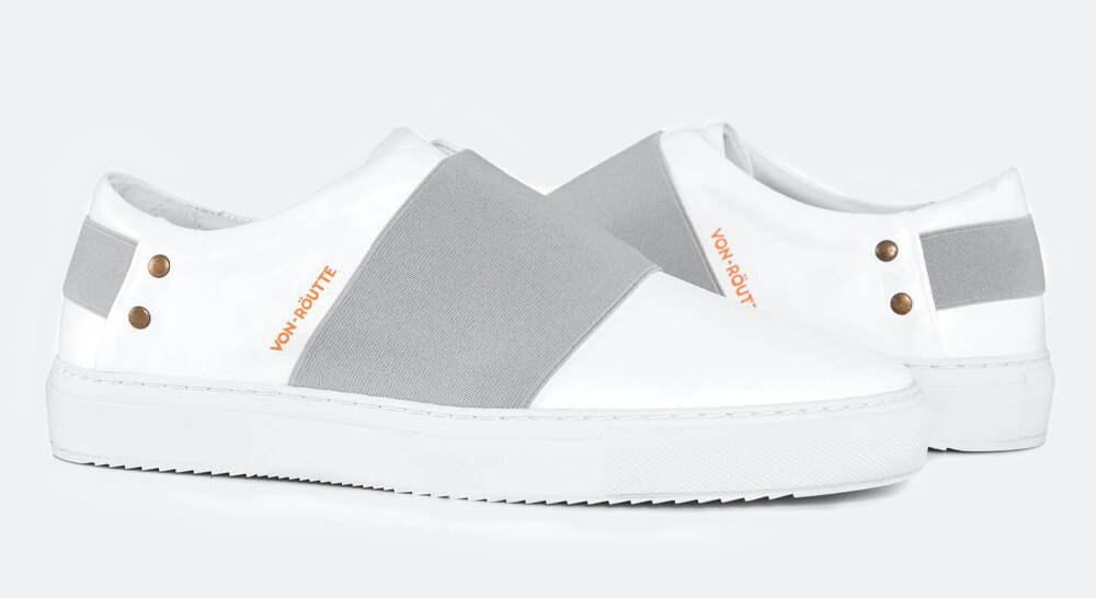 Von Routte - Rochelle Shoes White Slip-On Sneakers