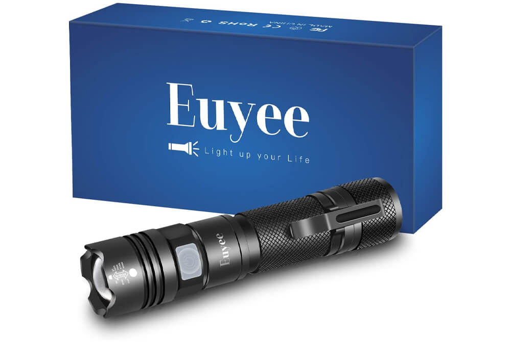Euyee Rechargeable LED Flashlight