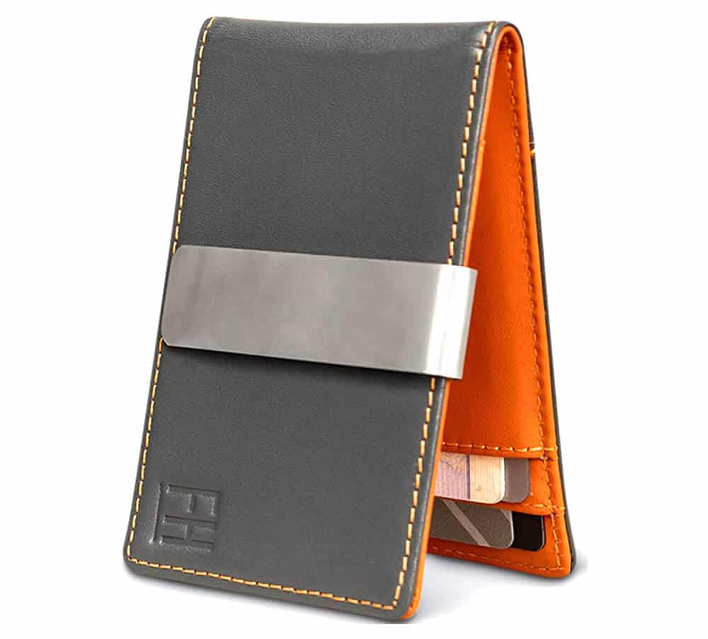 Forrest & Harold Minimalist Leather Wallet