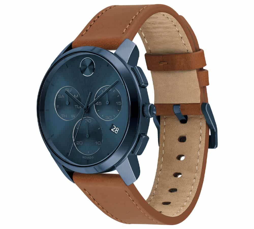 Movado Bold Thin Chronograph Watch
