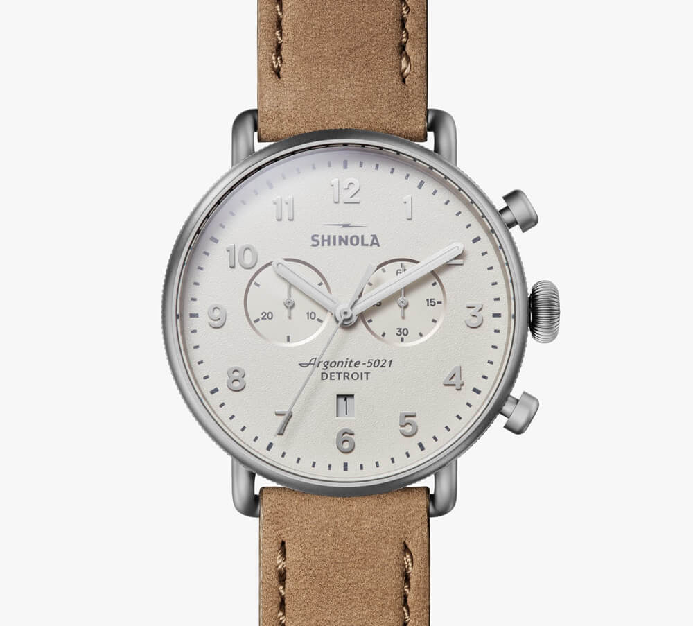 Shinola - The Canfield Chrono 43mm