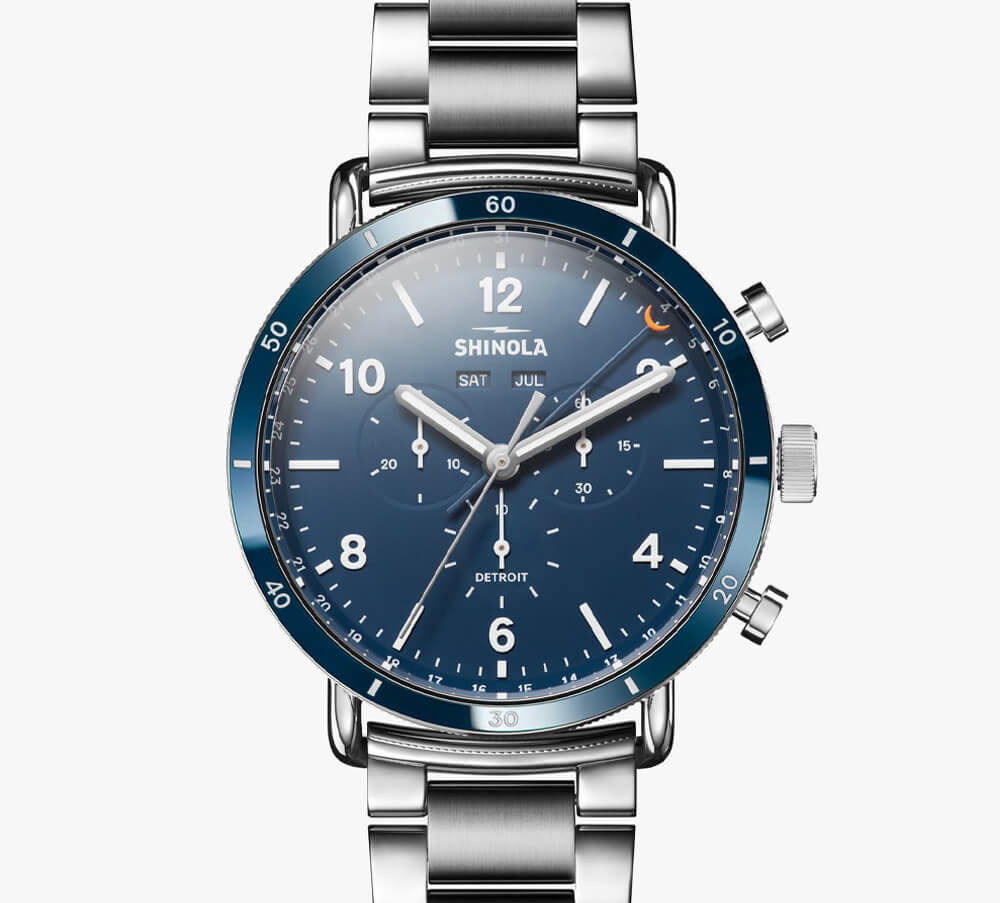 Shinola - The Canfield Sport 45mm Chronograph