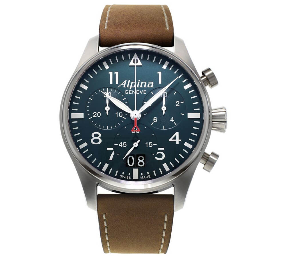 Alpina - Startimer Pilot Chronograph Big Date Watch