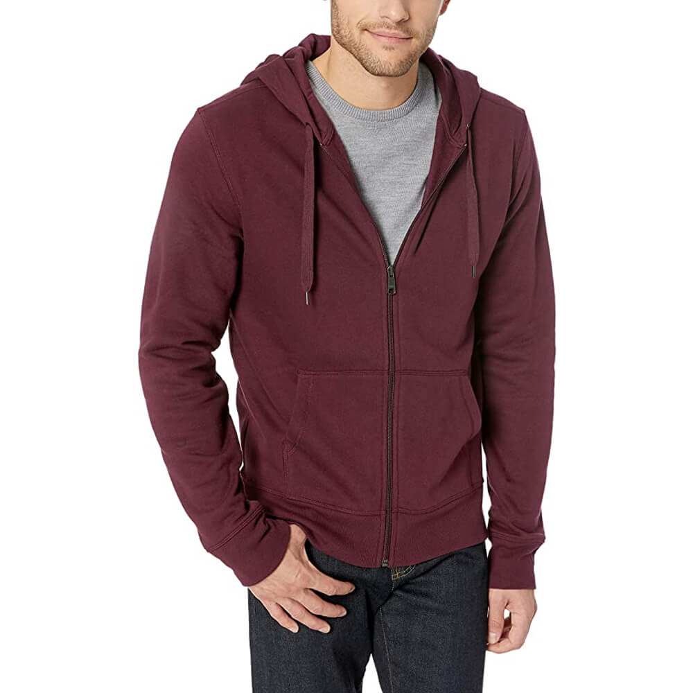 Amazon Essentials Standard Full-Zip Hooded Sweatshirt
