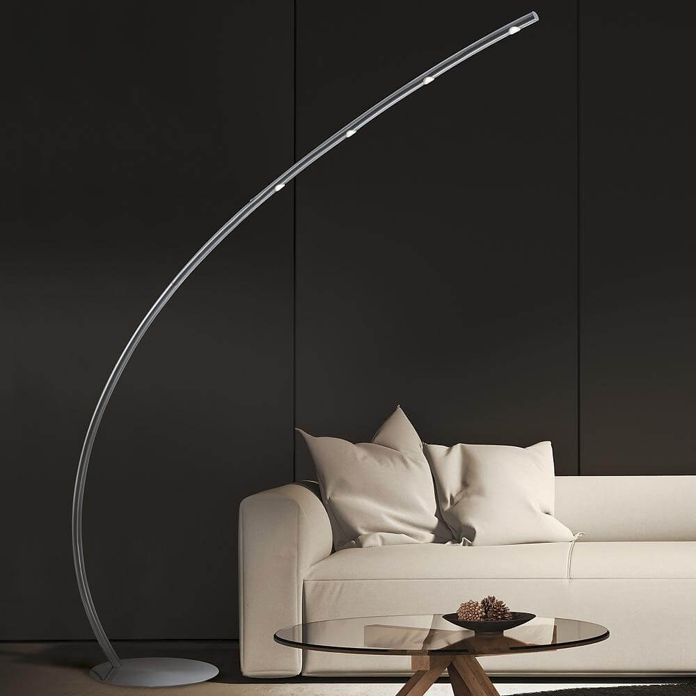 Arnsberg Columbus LED Arch Floor Lamp