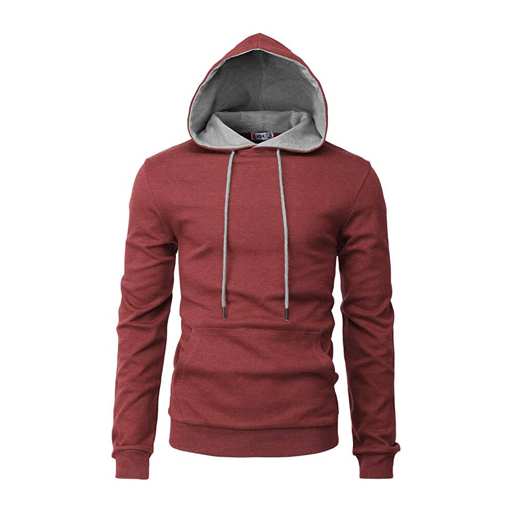 H2H Men's Casual Slim Fit Hoodie
