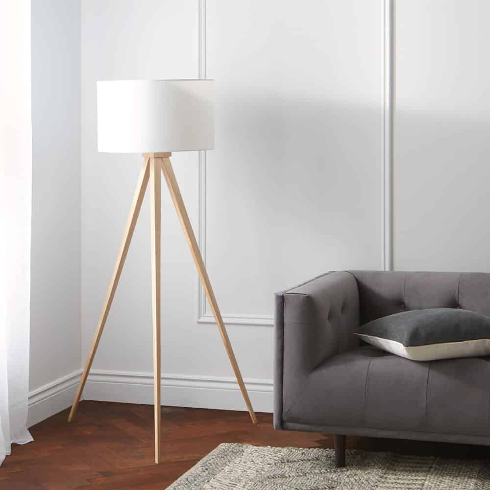 Structube Tena Tripod Floor Lamp