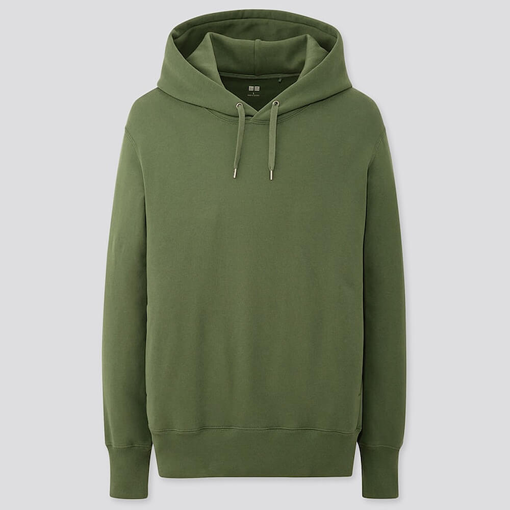 Uniqlo - Men Long-Sleeve Hooded Sweatshirt