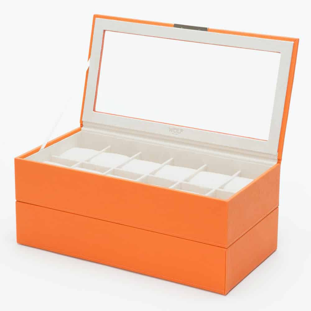 Wolf - 24 Piece Stackable Watch Box