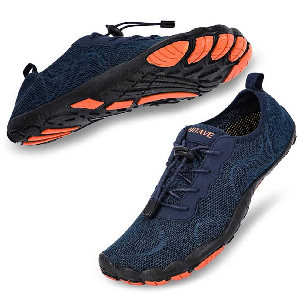 hiitave Men Barefoot Water Shoes