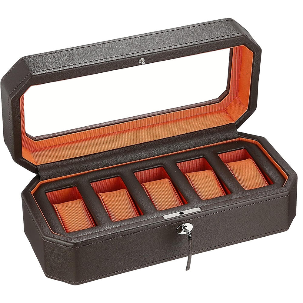 Wolf 458307 Leather Synthetic Watch Case