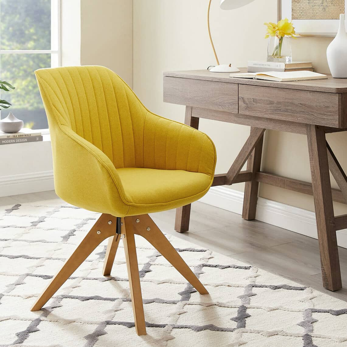 Brister Swivel Side Chair