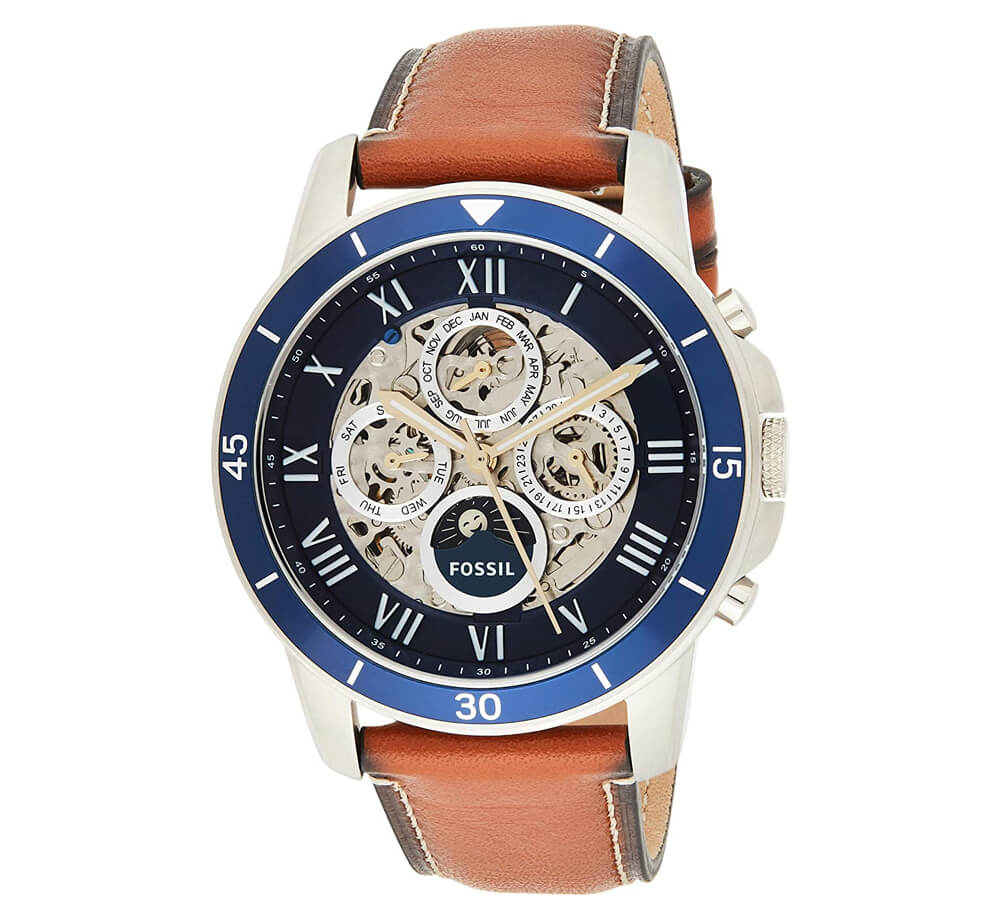 Fossil Men's Grant Sport Automatic Stainless Steel Mechanical Watch