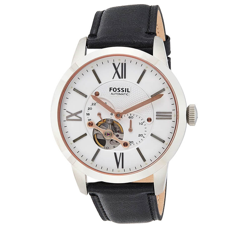 Fossil Men's Townsman Automatic Stainless Steel Mechanical Watch