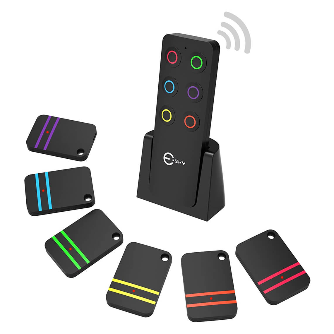 Esky Key Finder - 6 receivers