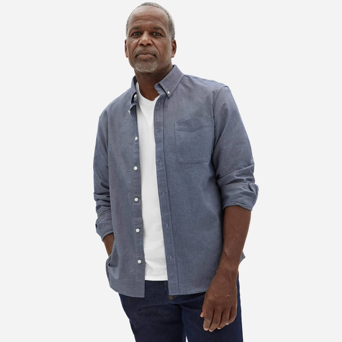Everlane - The Standard Fit Japanese Oxford Shirt | Uniform