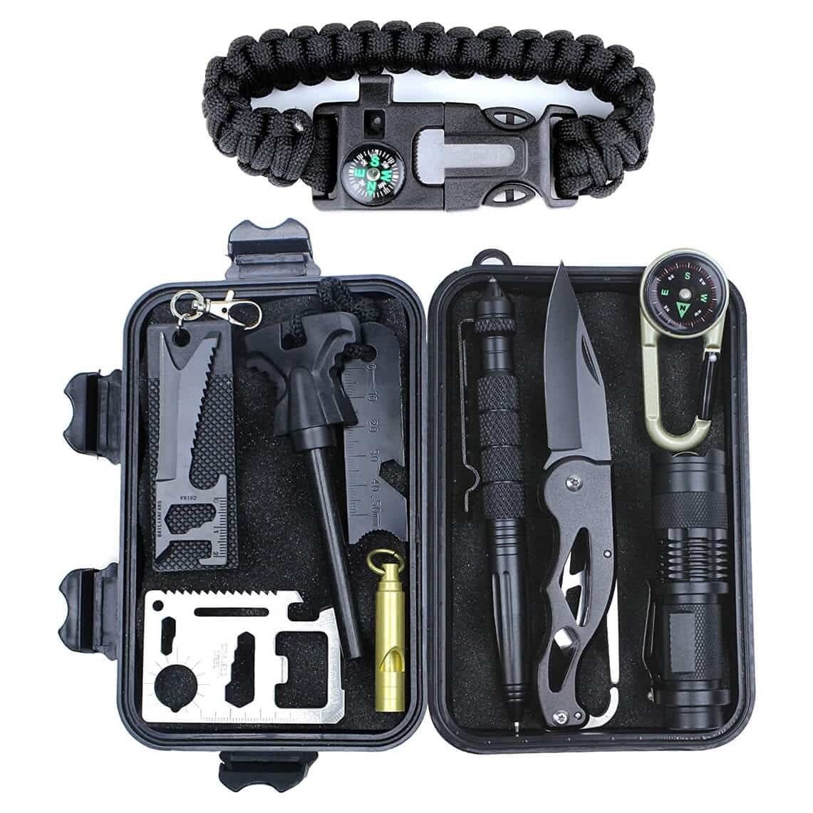 HSYTEK Survival Gear Kit 11 in 1