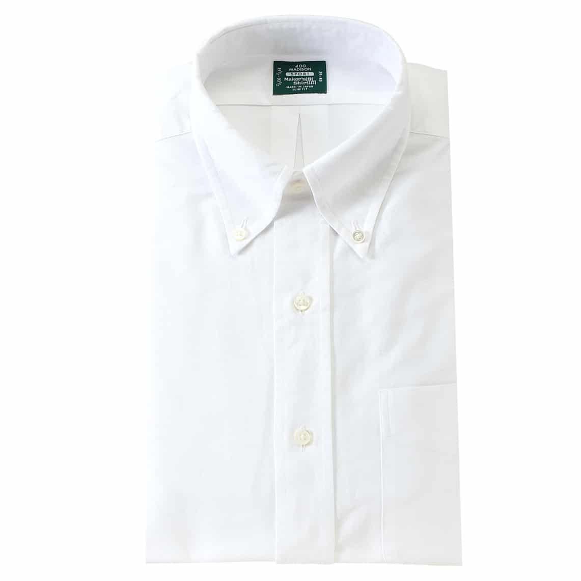 Kamakura Shirts - SLIM FIT - SPORT Button Down Oxford