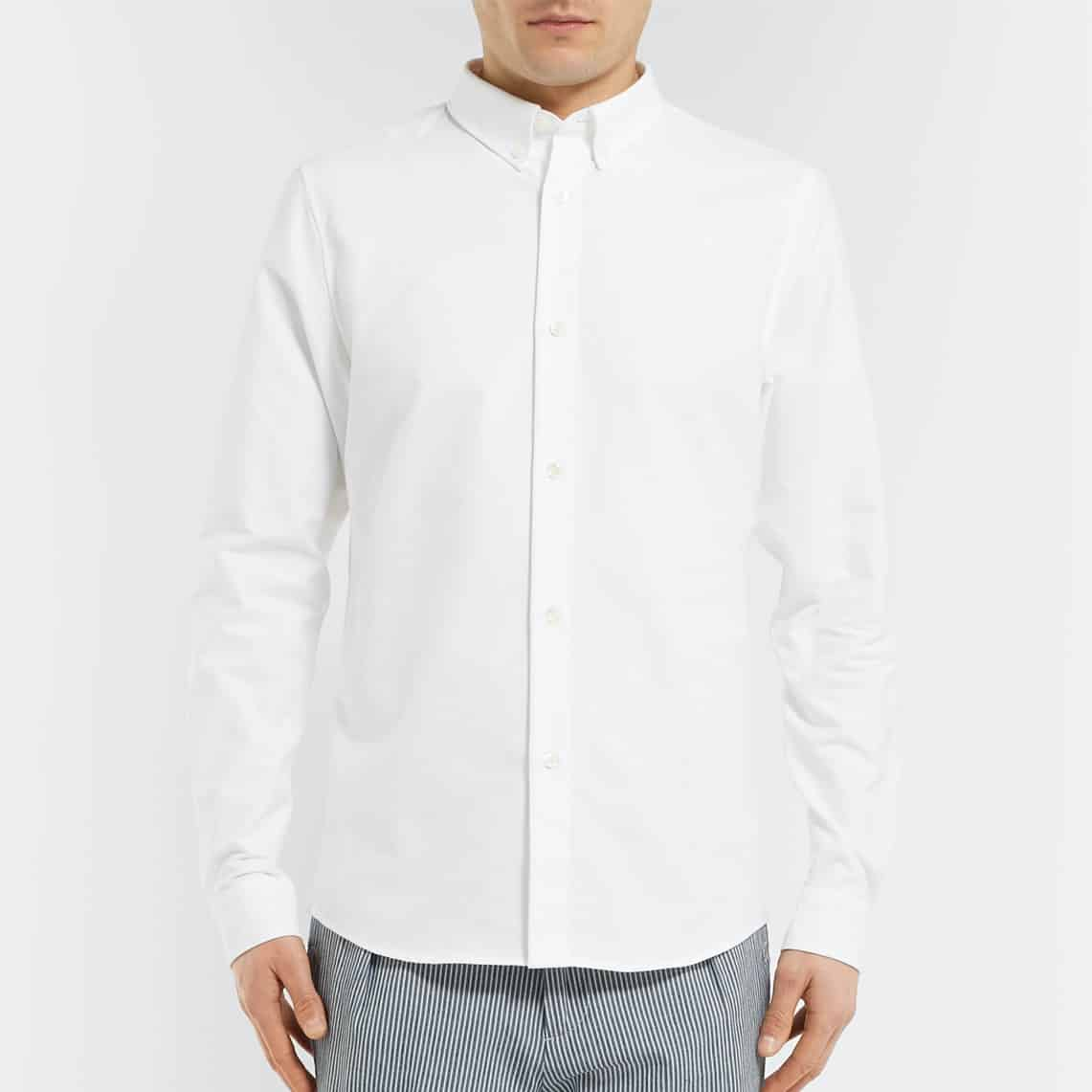 Mr. Porter - Slim-Fit Button-Down Collar Cotton Oxford Shirt