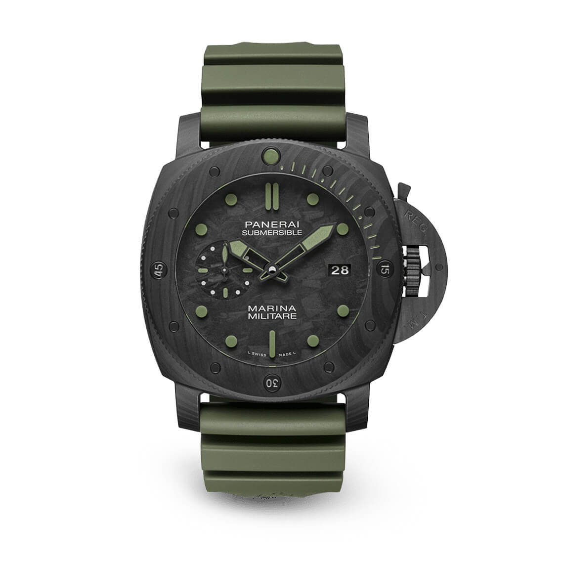 Panerai Submersible Militare Carbotech 47mm