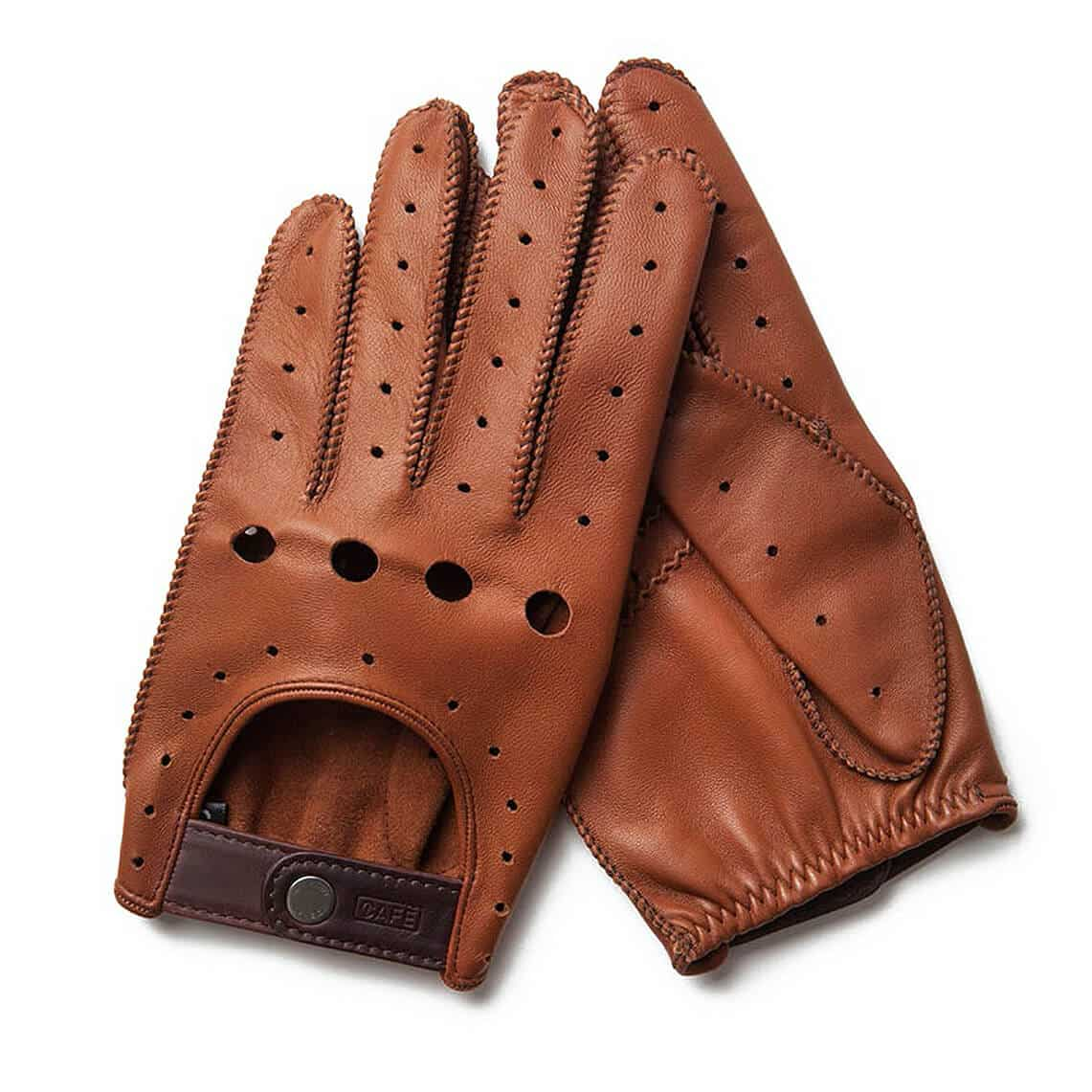 Cafe Leather - Triton Driving Gloves