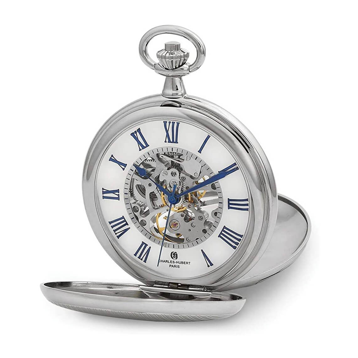 Charles Hubert - Double Cover Pocket Watch