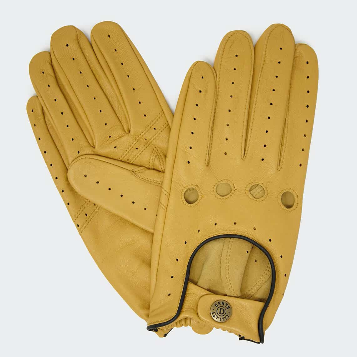 Dents Leather Unlined Driving Gloves