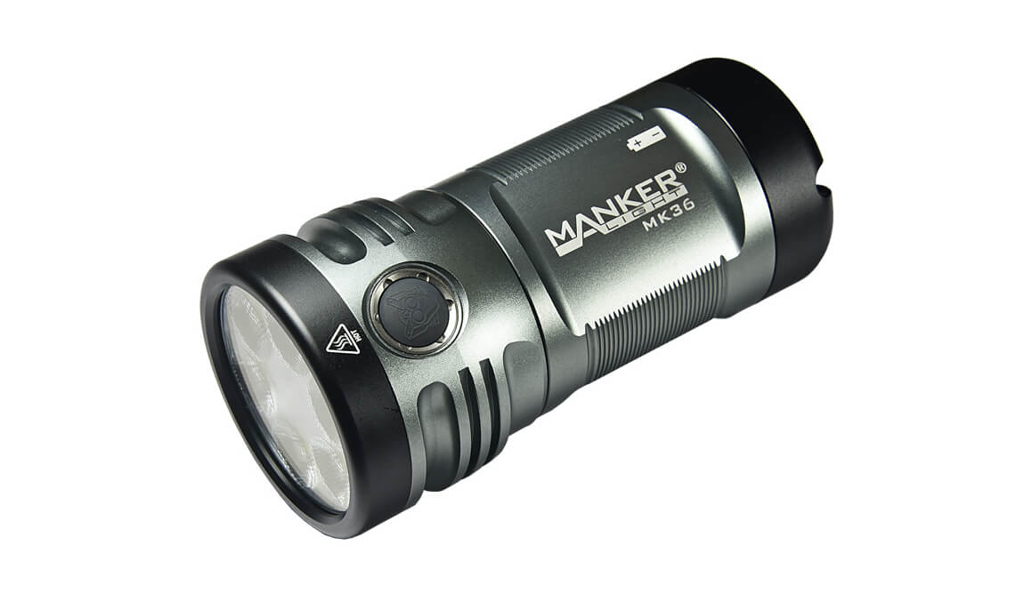 Manker MK36 12,000 Lumens LED Flashlight