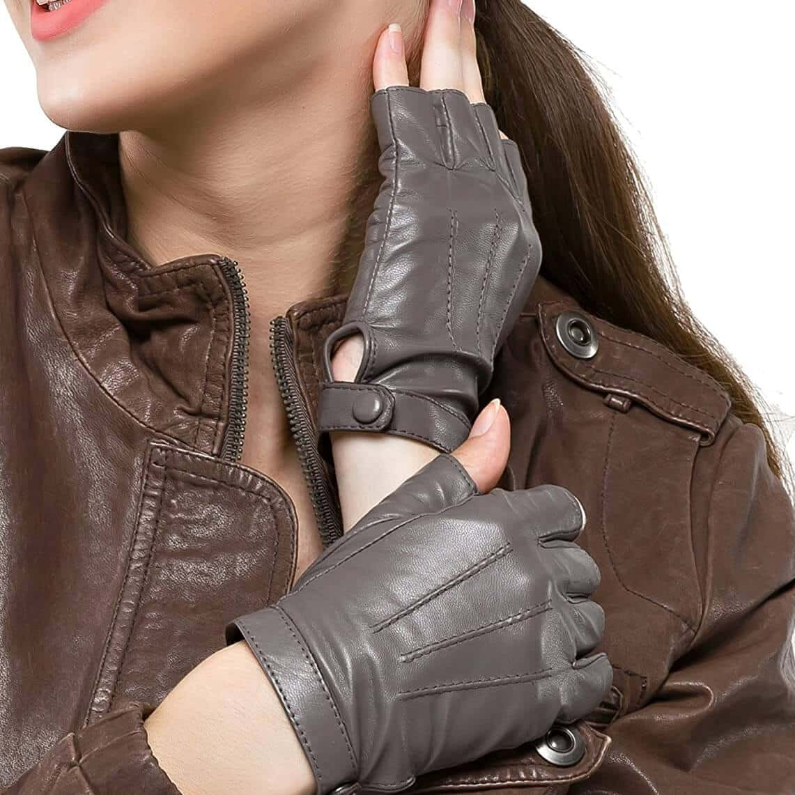 Nappaglo Women's Leather Driving Gloves