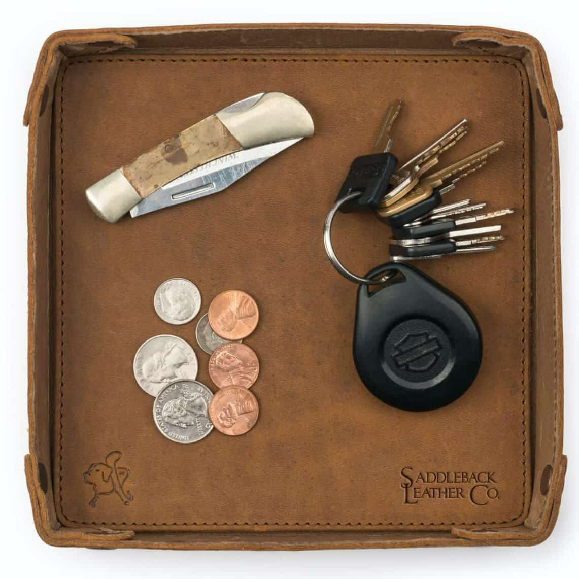Saddleback Firm Leather Catchall