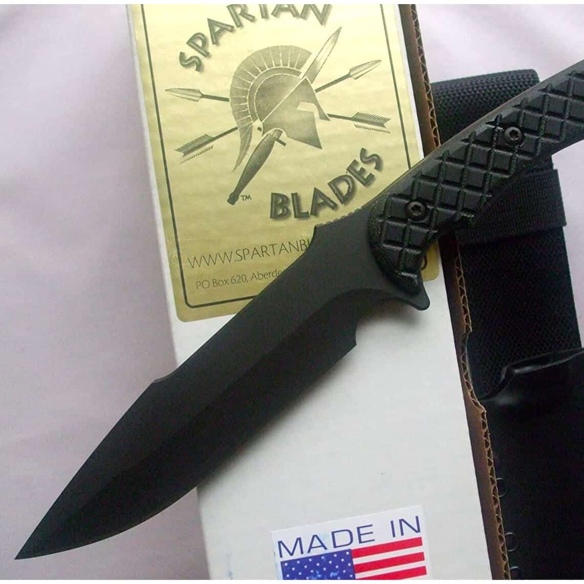 Spartan Blades Horkos Fixed Blade Fighting Utility Knife