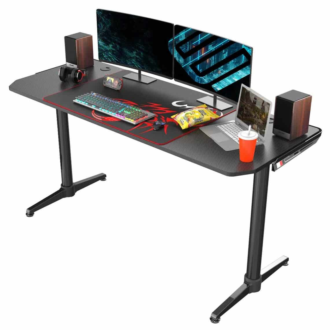 Eureka Ergonomic I60 Computer Gaming Desk 60