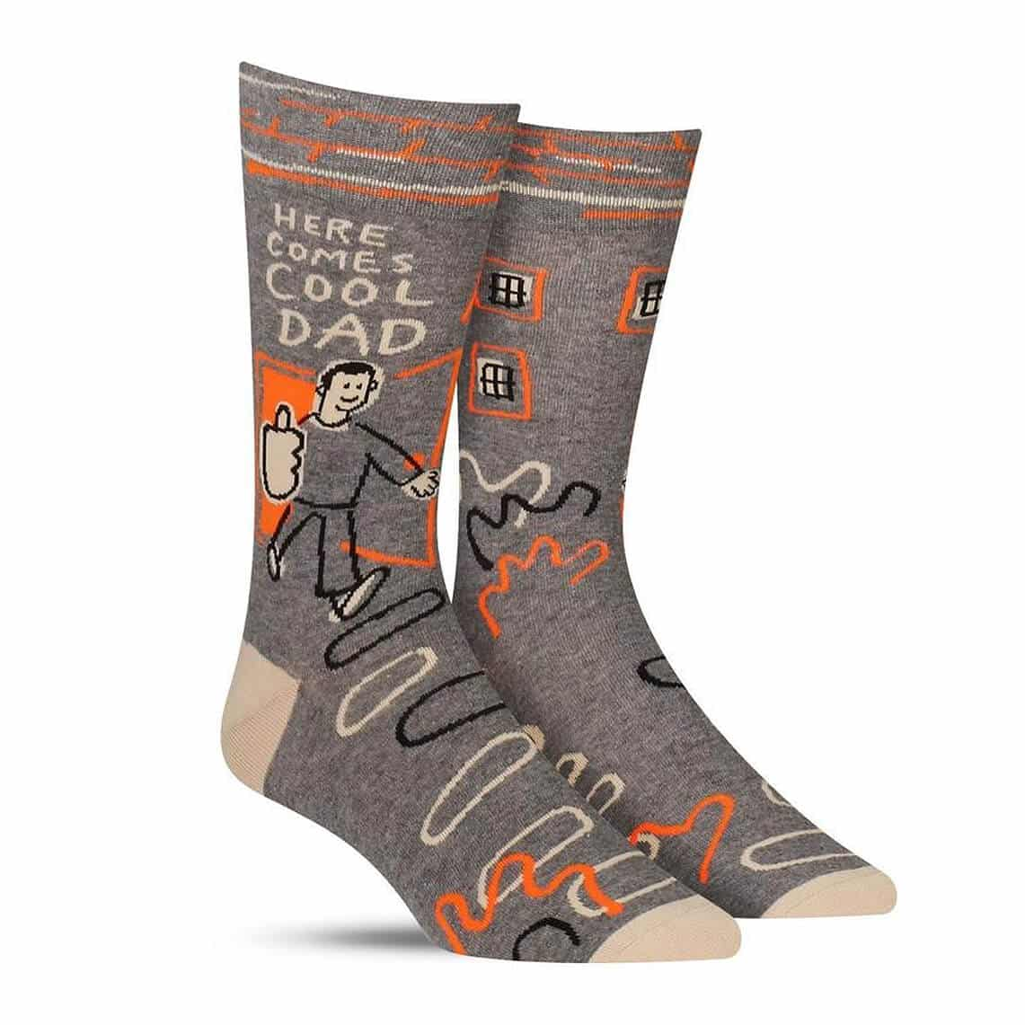 Here Comes Cool Dad Socks