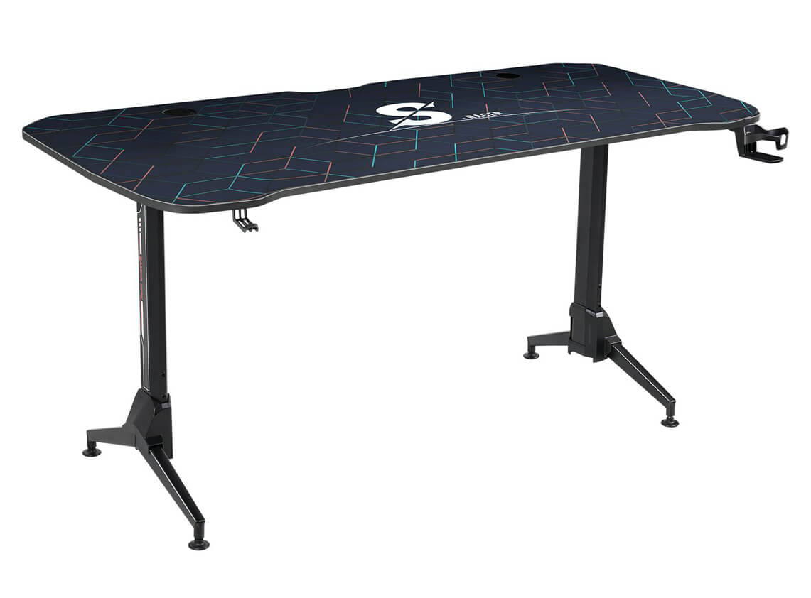Homall Height Adjustable Gaming Desk