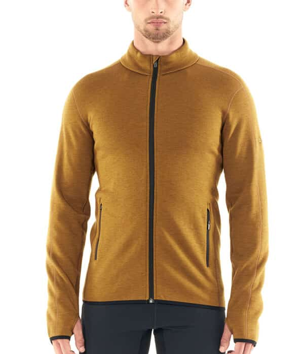 Icebreaker - Men's RealFleece® Merino Elemental Long Sleeve Zip Jacket