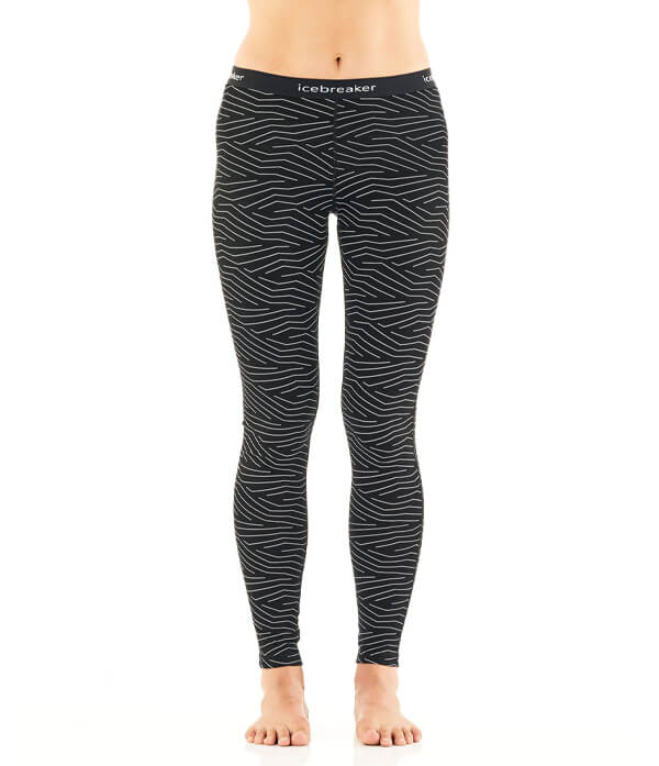 Icebreaker - Women's Merino 200 Oasis Thermal Leggings Napasoq Lines