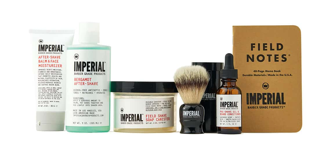 Imperial Barber Deluxe Field Shave Kit