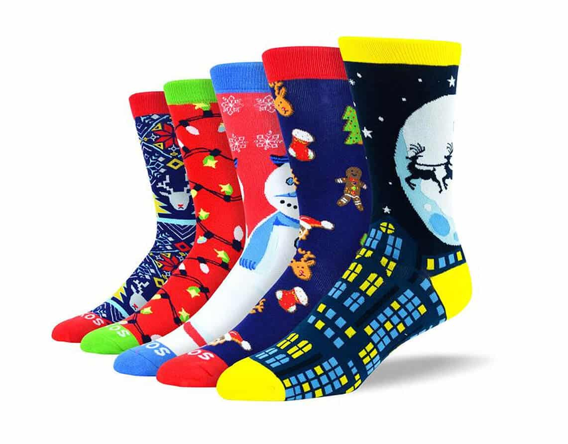 Men's Fun Christmas Sock Bundle