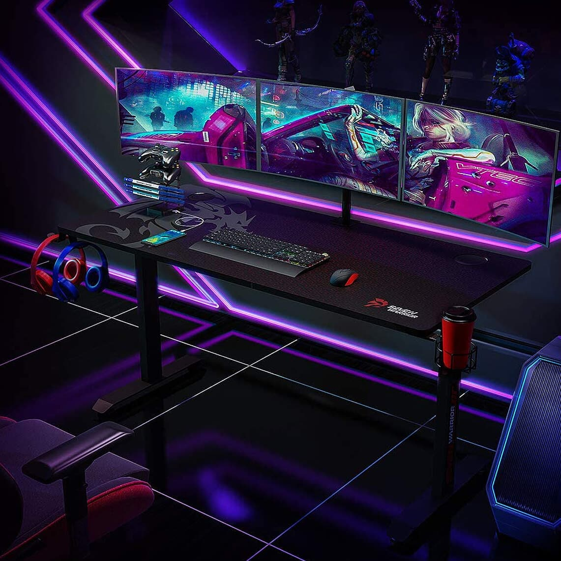 Seven Warrior Gaming Desk