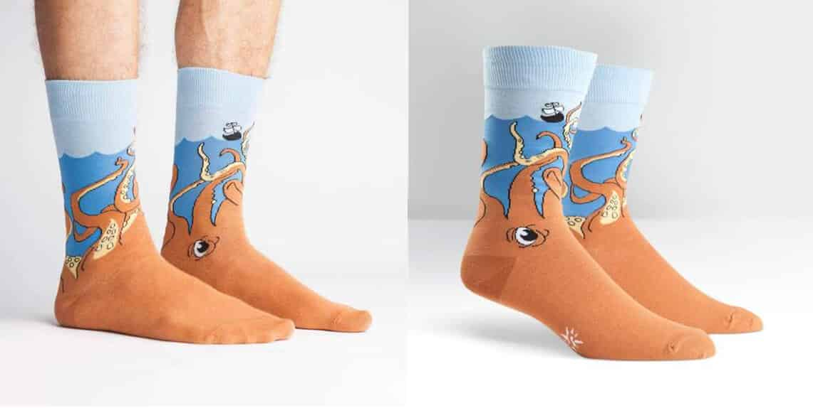 Squid-O Men's Crew Socks